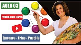 PINTURA EM TELA 03 - VOLUME DAS CORES - Pollyanna Ferreira