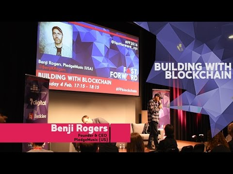 """Building with Blockchain"" by Benji Rogers  