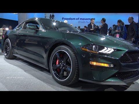 2019 Ford Mustang Bullitt - Exterior And interior Walkaround - 2018 Detroit Auto Show