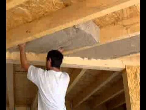 Isolant naturel valnat un chantier mob exceptionnel montb liard 25 youtube - Isolation phonique entre 2 chambres ...