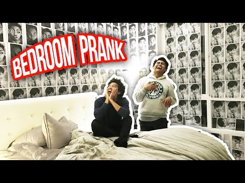 EXTREME BEDROOM MAKEOVER PRANK!
