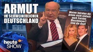 Gernot Hassknecht zerreißt den Armutsbericht der Bundesregierung