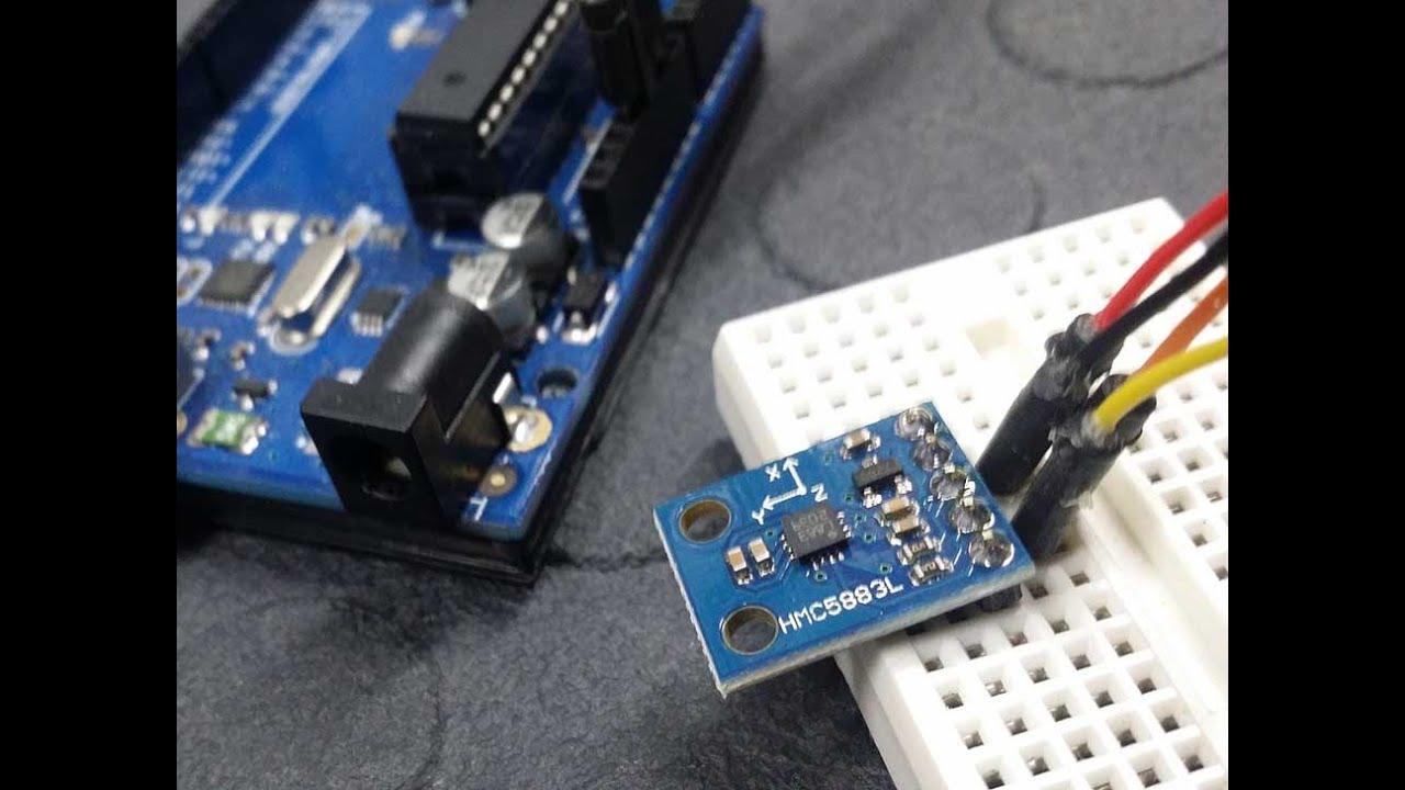 Use the HMC5883L 3-axis sensor with an Arduino - Tutorial