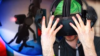 MIND BENDING PORTALS | Budget Cuts (HTC Vive Virtual Reality)