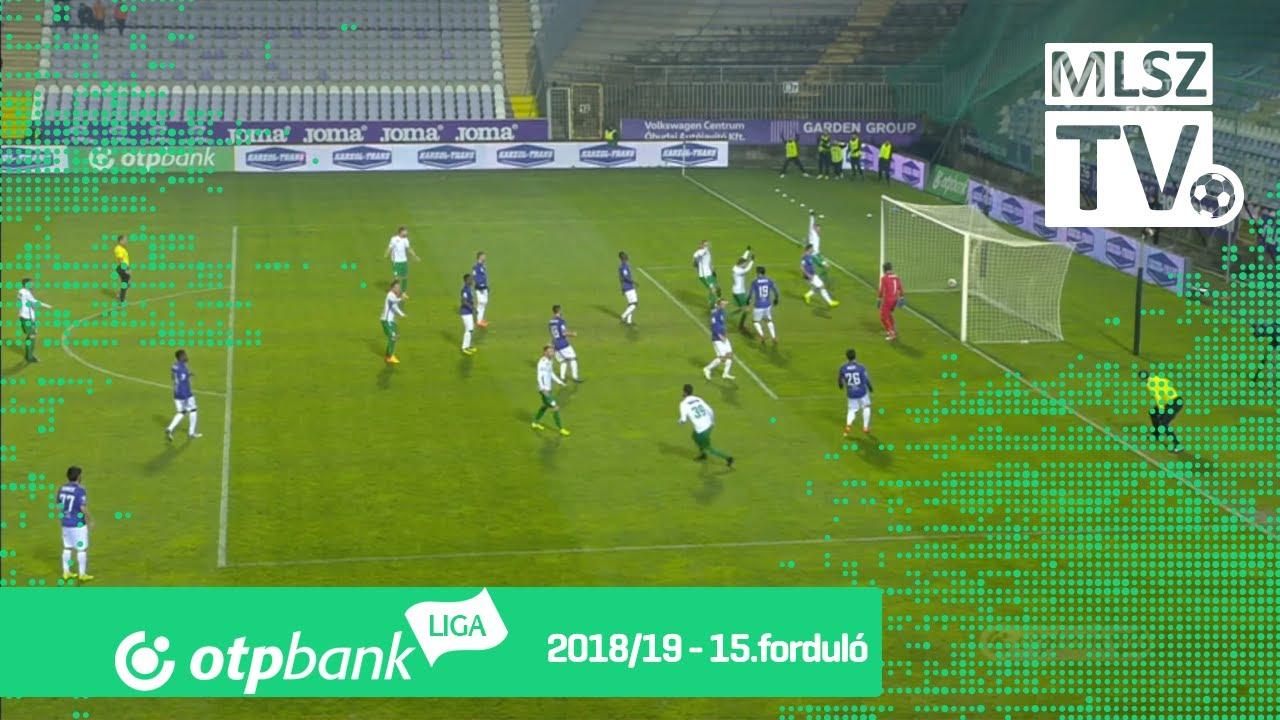 Bartha László gólja az Újpest FC - Paksi FC mérkőzésen