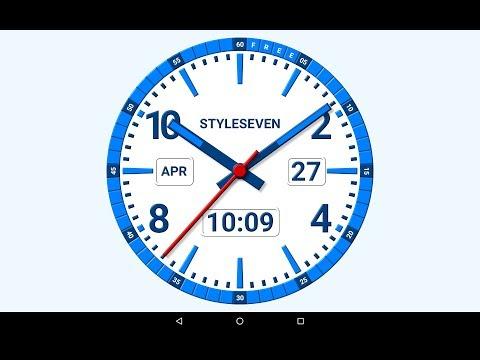 Kit Analog Clock Live Wallpaper-7 - Apps on Google Play