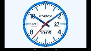 Kit Analog Clock Live Wallpaper-7 screenshot 2