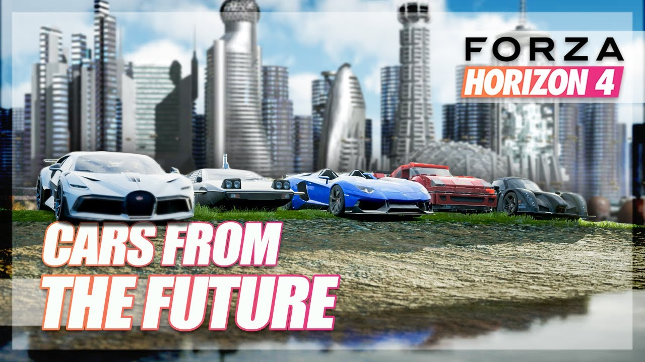 Forza Horizon 4 - Cars from the Future Challenge! thumbnail