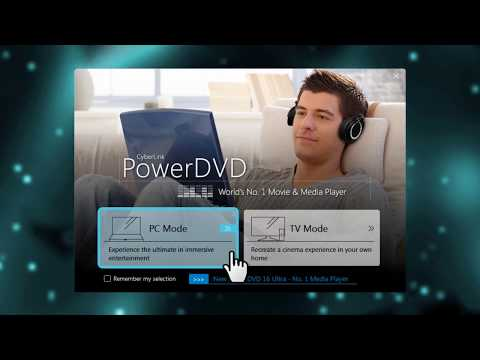 Using TV Mode | PowerDVD - World's No. 1 Movie & Media Player