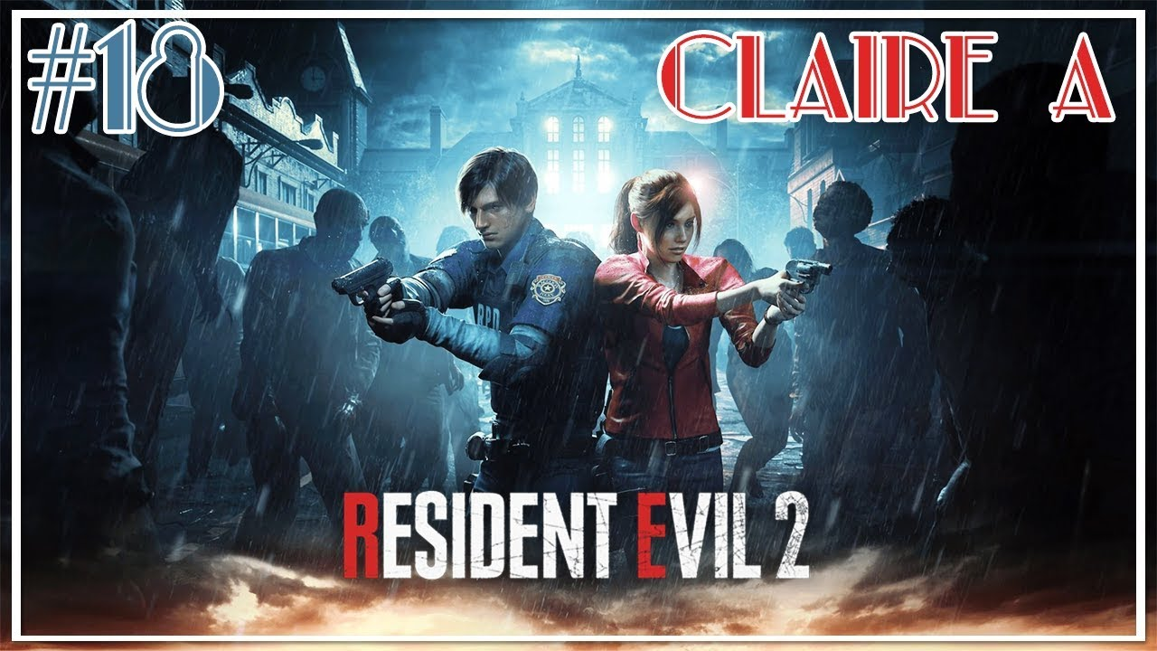 Let's Play: Resident Evil 2 (Claire A) - Part 18 - (Herbicide Solution)