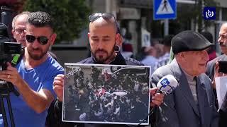 صحفيون في الضفة الغربية ينفذون وقفة تأبين لزميلهم الشهيد ياسر مرتجى