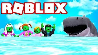 Roblox Sharkbite zombie Vs squali!