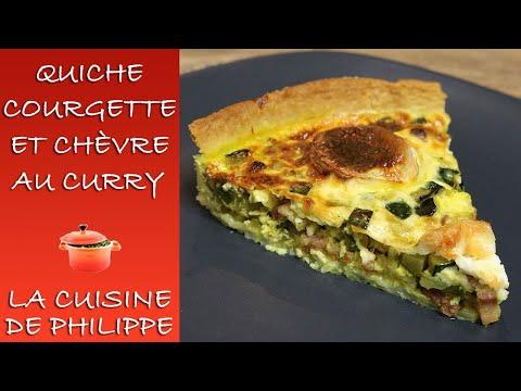 quiche-courgette-et-chèvre-au-curry