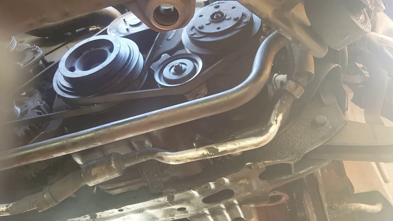 nissan 300zx belts powersteering ac alternator diy [ 1280 x 720 Pixel ]