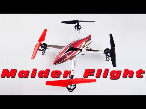 DutchRC - WLtoys Q212G FPV Quadcopter - Maiden Flight + Aerial Footage :D