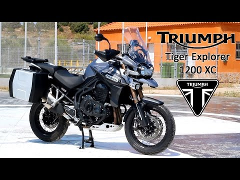 triumph tiger explorer 1200 xc 2015 prueba a fondo. Black Bedroom Furniture Sets. Home Design Ideas