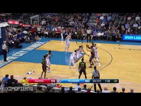 Oklahoma City Thunder vs Atlanta Hawks Full Game Highlights Dec,16 2016