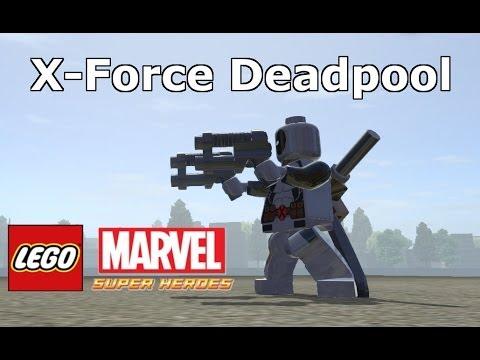LEGO Marvel Super Heroes - X-Force Deadpool Mod - YouTube