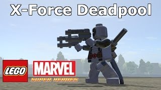 LEGO Marvel Super Heroes The Video Game X-Force Deadpool Mod