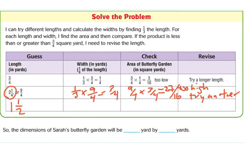 problem solving find unknown lengths lesson 7.10 homework answers