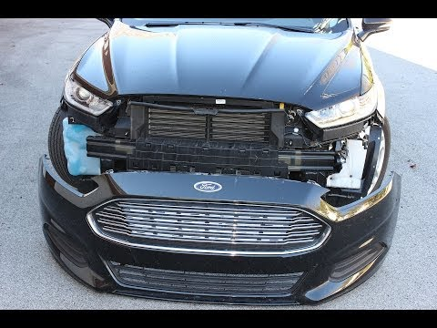 Ford Fusion Front Bumper Cover Removal (2013+ ) Second Generation