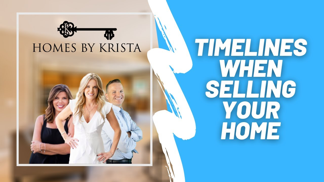 Timelines when selling your home