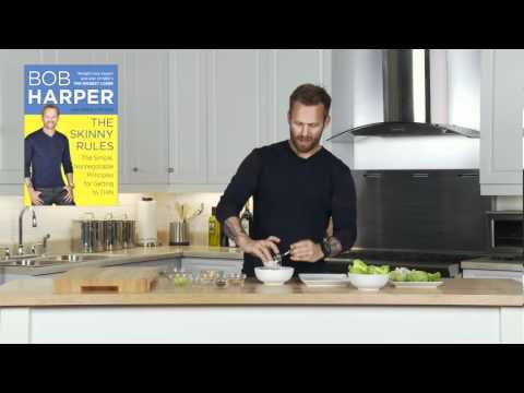 Bob Harper's SKINNY RULES Recipe For Chicken Salad Cups