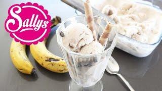 Bananeneis selber machen / mit und ohne Eismaschine / sehr cremig / auch vegan möglich