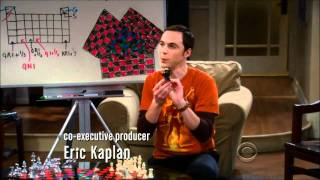 The Big Bang Theory: Sheldon's Three Person Chess