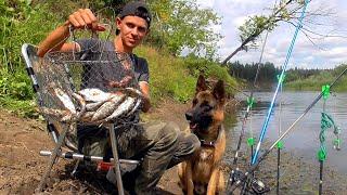 Ночная Рыбалка Даже Рыба ловится