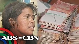 TV Patrol: Babaeng palaboy, may P74,000 sa bag