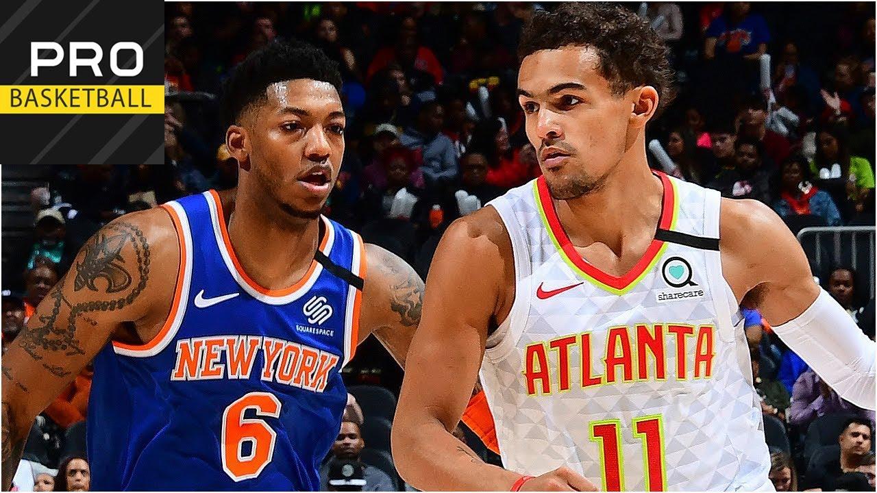 New York Knicks vs Atlanta Hawks   Mar. 11, 2019   2019-20 NBA Season   Обзор матча