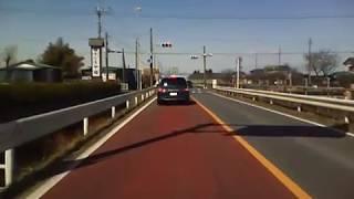 埼玉県道306号(一部) 01 上中森鴻巣線 鴻巣→行田 [低画質]