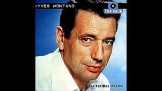 """Yves Montand Sings """"Sous le Ciel de Paris"""""""