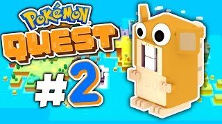 """Pokemon Quest - """"SQUIRTLE IS INSANE!?"""" - Episode 2"""