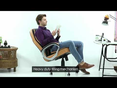 Vienna High-Back Leatherette Office Chair
