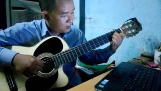 [HƯỚNG DẪN] Hoa bằng lăng - Jimmy Nguyễn - Guitar Solo - phần vào bài