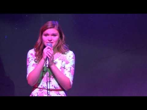 Kennedy McCollam singing My House from Matilda the Musical