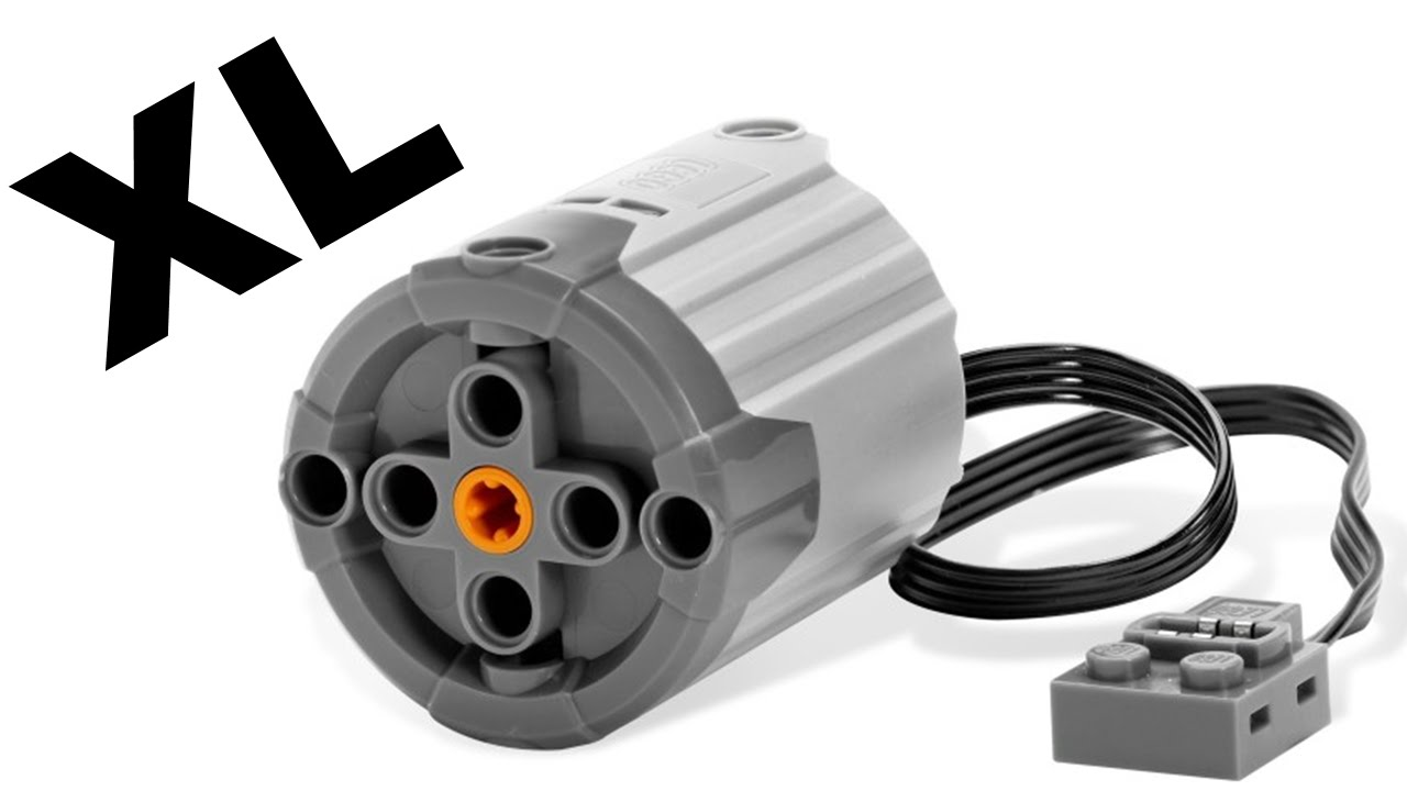LEGO Power Functions XL Motor 8882 - Review - YouTube