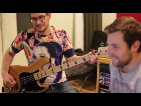 The Great Heights Band : In The Studio at Buzzlounge