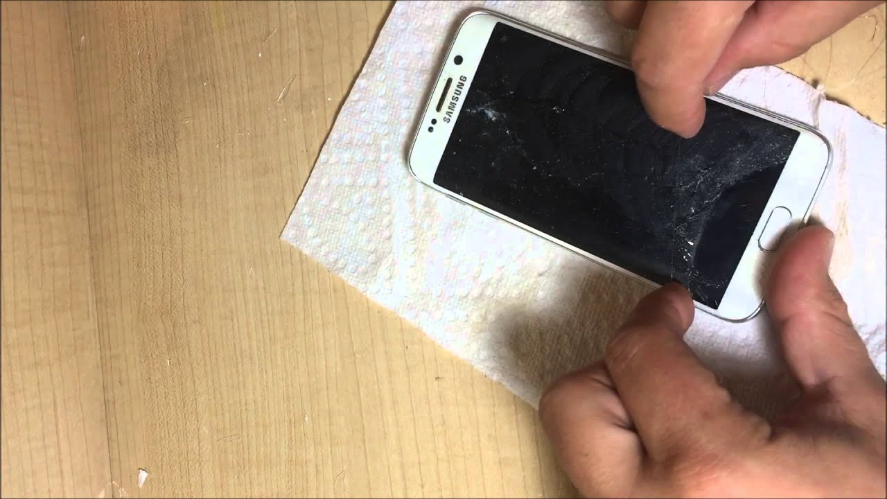 Samsung Galaxy S6 Edge Glass Only Repair Er Cellutions Youtube Lcd Touchscreen S5 White Oem