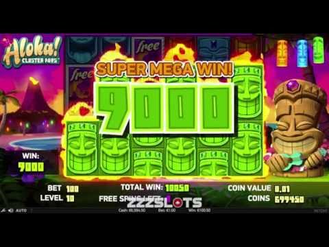 Aloha Cluster Pays online slot game [ZZZSLOTS]