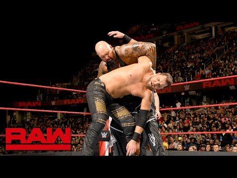 Luke Gallows & Karl Anderson vs. The Miztourage: Raw, March 26, 2018