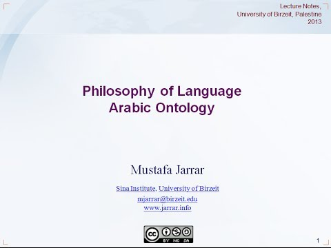 Part 1: Philosophy of Language and Knowledge