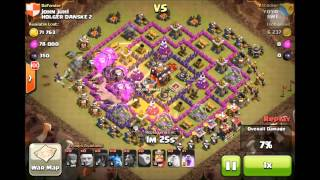 Lavaloonion 3 star-Th9 Vs Th10 - Clash Of Clans