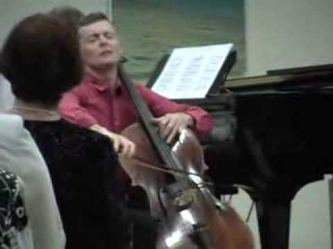 Rustam Komachkov plays Sarasate Zigeunerweisen on cello