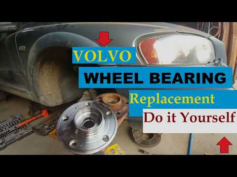COMPLETE DIY – VOLVO FRONT WHEEL BEARING REPLACEMENT