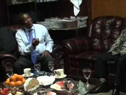 Hon Dr  Alpha Kanu Visiting Representative Office Sierra Leone In Indonesia
