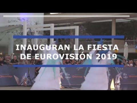 Así fue la alfombra naranja de Eurovisión