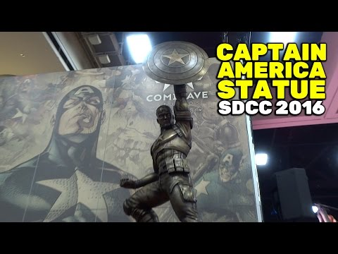 SDCC 2016: Captain America statue bound for Brooklyn displayed at San Diego Comic-Con